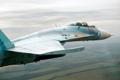Су-27 перехватил летевшие к России разведчики США и Швеции