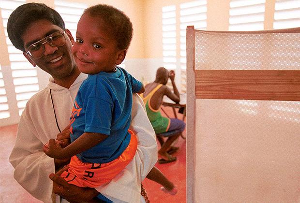 Приют «Миссионеров бедности» в Кингстоне (Ямайка)