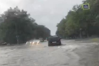 Улицы российского города превратились в реки