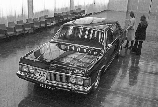 Едва ли не единственным советским представительским автомобилем, который создавался без оглядки на конкретный американский автомобиль, стал ГАЗ-14 «Чайка» (1977-1988 годы).