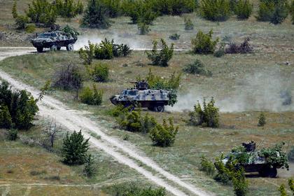 НАТО вместе с Грузией и Украиной начали учения в Литве