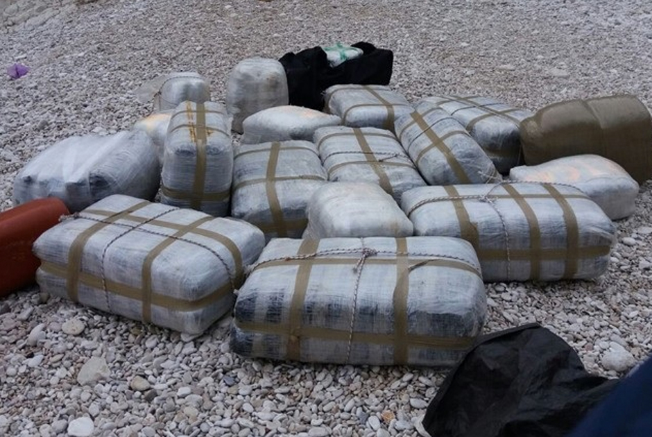 Очередная партия наркотиков из Албании, задержанная в Италии