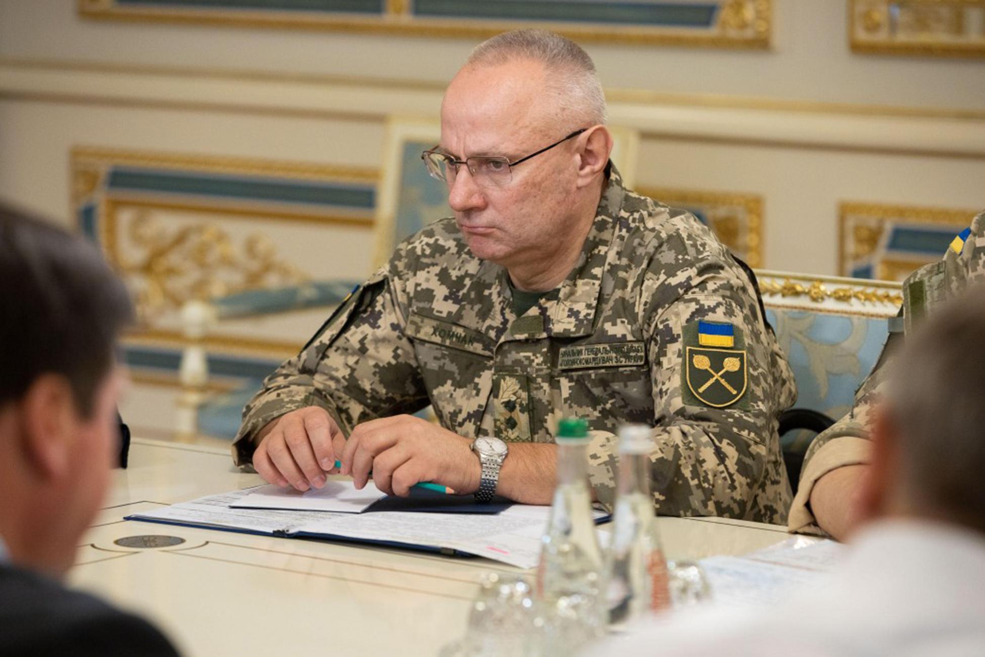 Киев заявил о «моральной готовности» украинских войск к наступлению в Донбассе