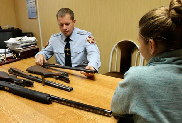 Оформление документов на право хранения гражданского оружия