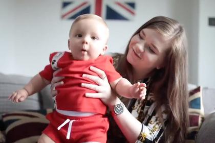 Поцелуй на крещении едва не убил новорожденного ребенка