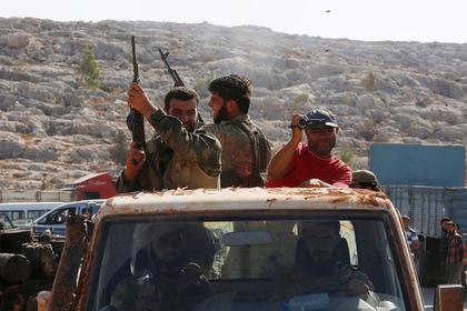 Джихадисты атаковали позиции сирийской армии и понесли потери