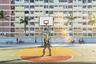Днем в общественном парке Чой Хун, что в Гонконге, много молодежи. Тут играют в баскетбол, фотографируются и весело проводят время. Но утром парк предстал японцу Йошики Фудзиваре в ином виде: пустота, тишина и единственный пожилой мужчина, делающий гимнастику тайцзи.