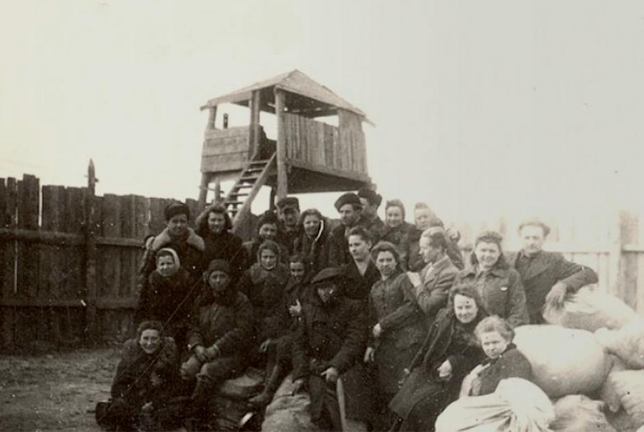 Представители депортированных народов в Сибири, 1949 год