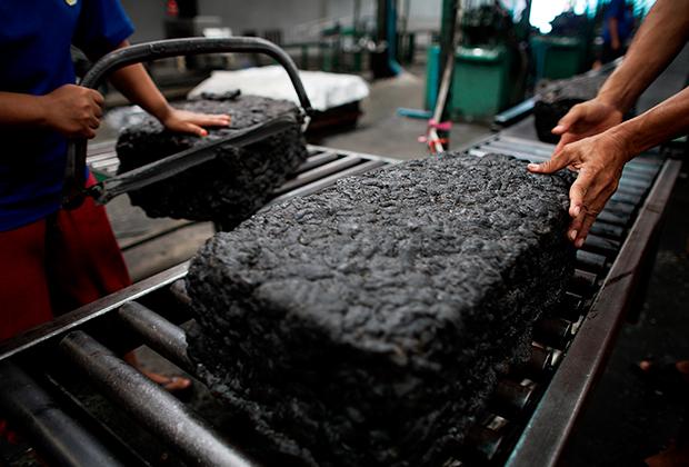Производство каучука
