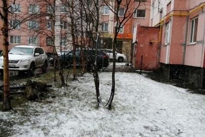 Жители заснеженного Нового Уренгоя попросили чиновников вернуть отопление