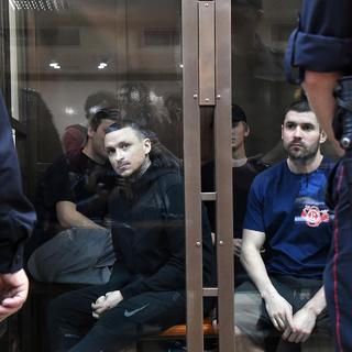 Футболисты Александр Кокорин, Павел Мамаев и Александр Протасовицкий (слева направо)