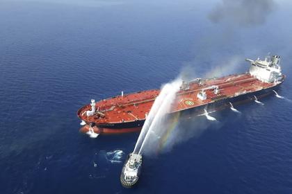 США назвали виновного в нападении на танкеры в Оманском заливе