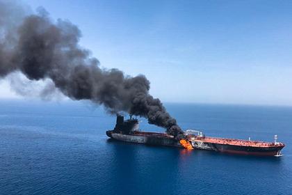 На одном из танкеров в Оманском заливе нашли неразорвавшуюся мину