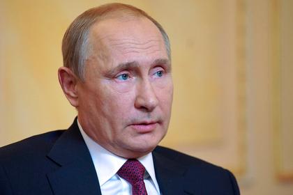 Путин поставил в заслугу России поражение боевиков в Сирии