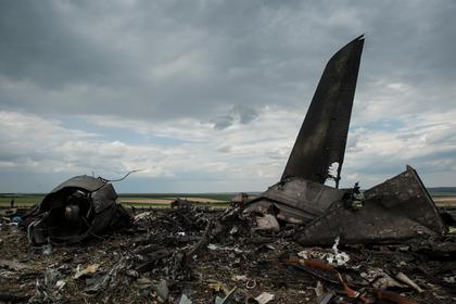 Украина заявила о доказательствах вины России в крушении Ил-76 в Донбассе