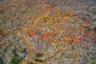 Еще один вид на крупнейший лагерь беженцев Кутупалонг, позволяющий оценить его масштаб. На аэрофотоснимках с дронов запечатлены тысячи самодельных построек, сплетающихся в единую систему. Многокилометровые скопления разноцветных лачуг словно рисуют картину. Весьма неутешительную: население Кутупалонга перевалило за миллион.