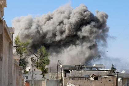 Россия ударила по передовым позициям сирийских боевиков