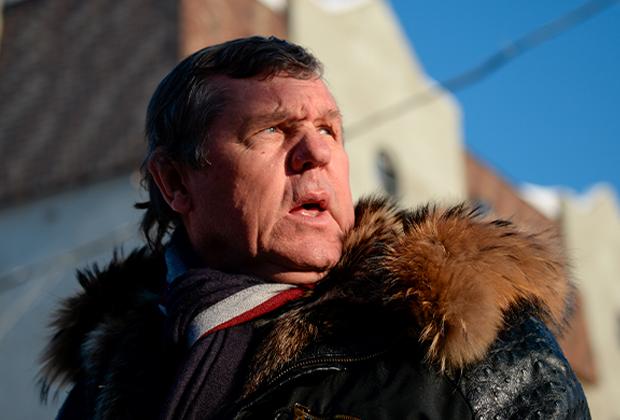 Поэт, певец и композитор Александр Новиков