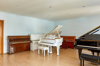 Белорусы удивили квартирой с десятком фортепиано