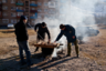 Уастырджи посвящен главный праздник Осетии— Джеоргуыба. Этот праздник приурочен к окончанию сельскохозяйственных работ и отмечается в конце ноября в течение недели — от понедельника до понедельника. В воскресенье, накануне праздника, закалывается жертвенное животное— бык или баран, в зависимости от размаха события. Этот день так и называется — «день закалывания быка». Во время праздника осетинам запрещается употреблять в пищу свинину и курицу. <br> </br> В Осетии можно часто услышать, что Уастырджи— это аналог христианского святого Георгия. Однако это не совсем так. Образ Уастырджи пришел из далекого дохристианского прошлого, его имя часто встречается  в нартовском эпосе. В нем он вместе с нартами (мифологическими предками осетин) охотится и ходит в походы. В осетинской традиции Уастырджи — это карающий воин, а в православной традиции святой Георгий — воин-великомученик.