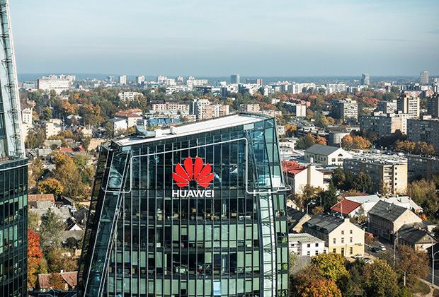 Штаб-квартира Huawei в Вильнюсе