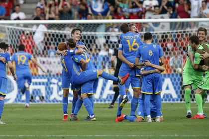 Украинская молодежка впервые в истории выиграла чемпионат мира по футболу
