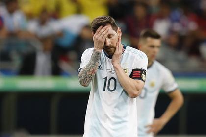Сборная Аргентины с Месси стартовала с поражения в Кубке Америки