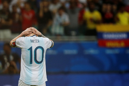 Месси высказалася о поражении сборной Аргентины на Кубке Америки