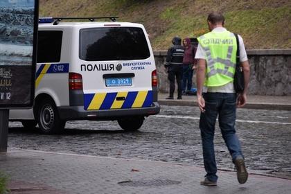 В полиции отреагировали на мощный взрыв в центре Киева