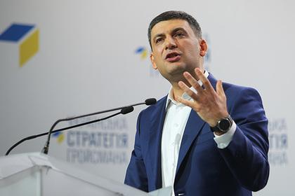 Украинский премьер пожаловался на враждебную систему Порошенко
