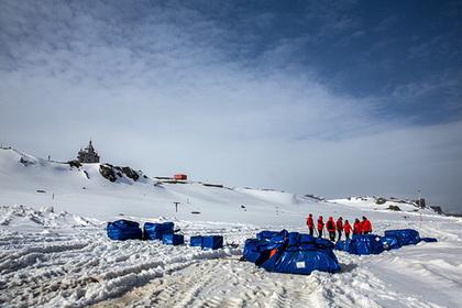 Российским станциям в Антарктиде захотели давать имена