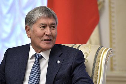 Бывшего главу Киргизии обвинили в вооружении российских бандитов
