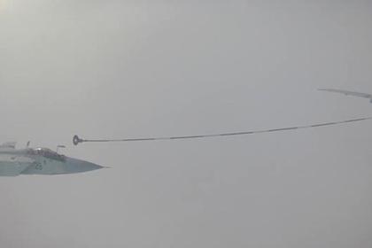 Воздушная дозаправка МиГ-31 попала на видео
