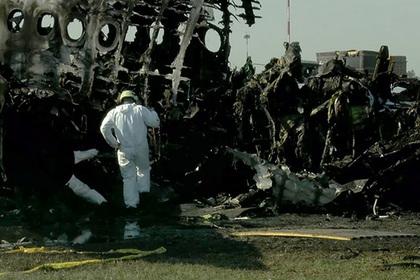 Пилотов сгоревшего в Шереметьево SSJ-100 временно отстранили от полетов