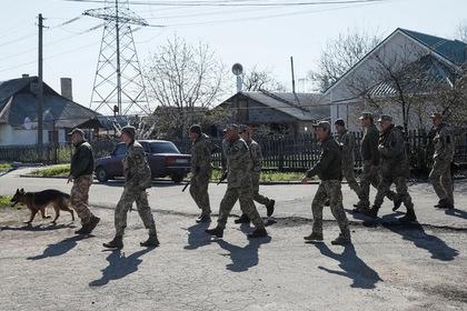 Украина опровергла приближение своих войск к Донецку