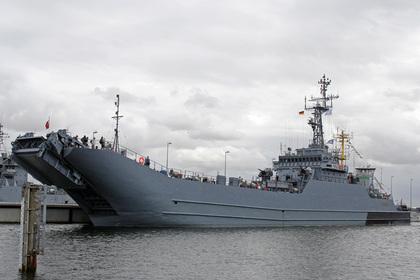 Поляки пробили дно корабля во время учений НАТО
