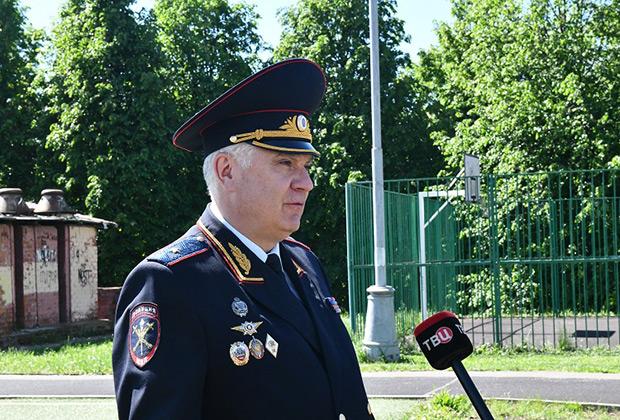 Андрей Пучков, один из уволенных после дела Голунова генерал-майоров