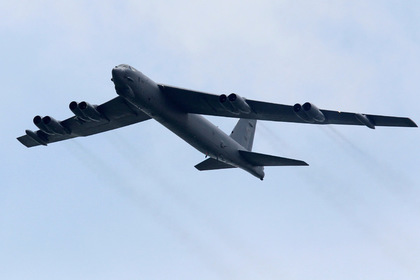 Россия перехватила бомбардировщики США над двумя морями