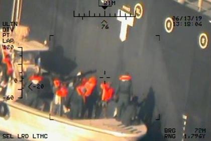 Представленвы новые «доказательства» атаки Ирана на танкеры в Оманском заливе