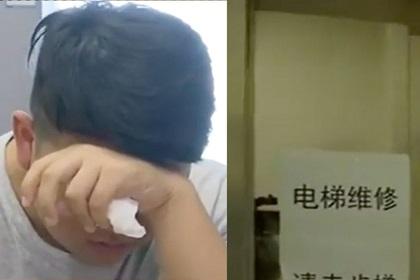 Школьники застряли в лифте и опоздали на вступительный экзамен