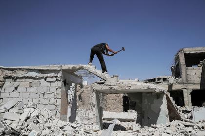 Китай будет восстанавливать Сирию