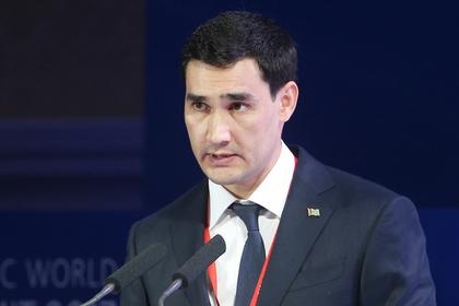 Президент Туркмении назначил своего сына губернатором