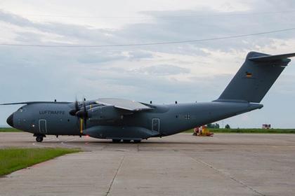 В российском городе приземлился самолет НАТО
