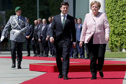 Зеленский схлестнулся с Германией из-за «Северного потока-2»
