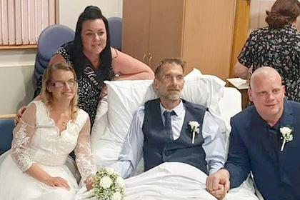 Смертельно больной жених умер через несколько часов после свадьбы