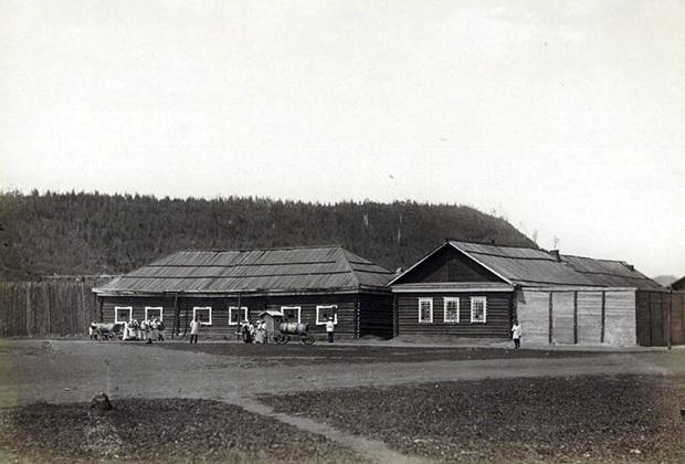 Ссыльно-каторжная тюрьма в Усть-Каре, 1891 год