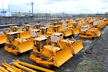 Производство бетона и бульдозеров в России резко выросло