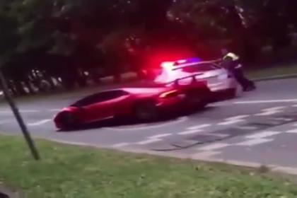 Российские мажоры посмеялись над видео с гаишниками и Lamborghini