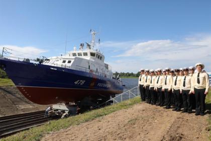 Росгвардия показала первый катер для защиты Крымского моста
