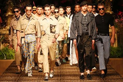 Dolce & Gabbana показали моду в курортном стиле